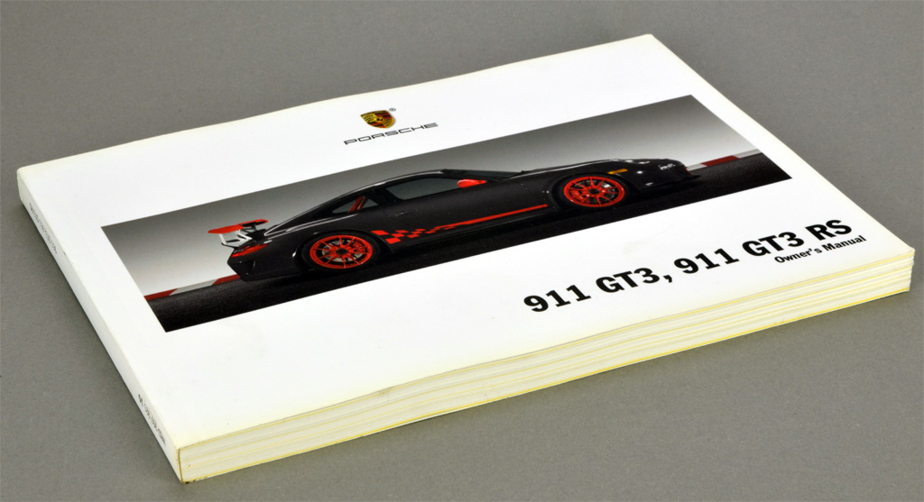 porsche 911 997 gt3 rs gt3 owner s manual 2009 new ebay rh ebay com porsche 991 gt3 rs owners manual pdf porsche 991 gt3 rs owners manual