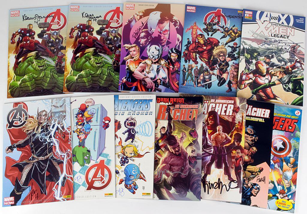 HULK zur Auswahl signiert Marvel Panini zT Variants