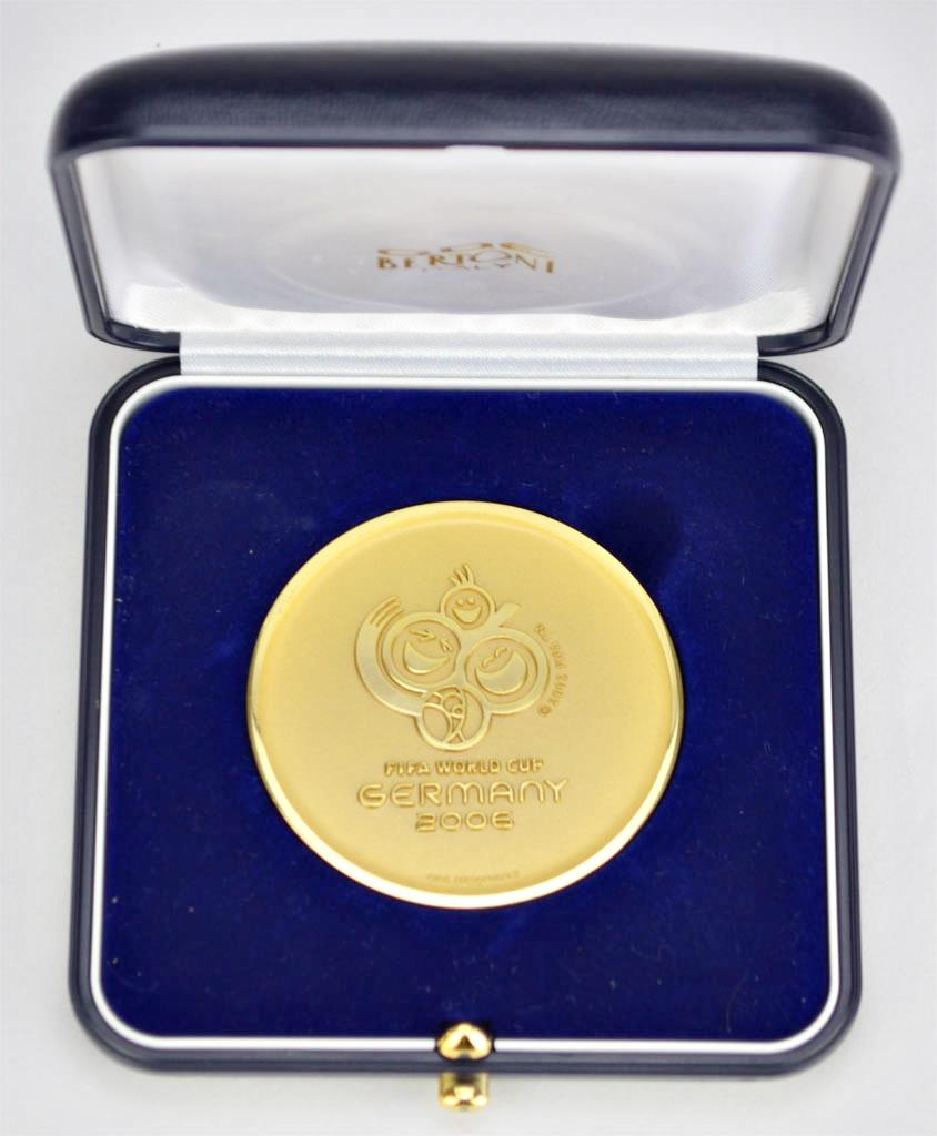 Fifa World Cup Germany Wm 2006 Offizielle Medaille Für Funktionäre
